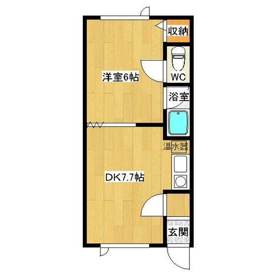 第1日研ハイツ 205号室