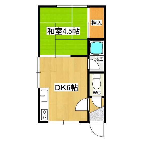 恵洋ハイツ 105号室