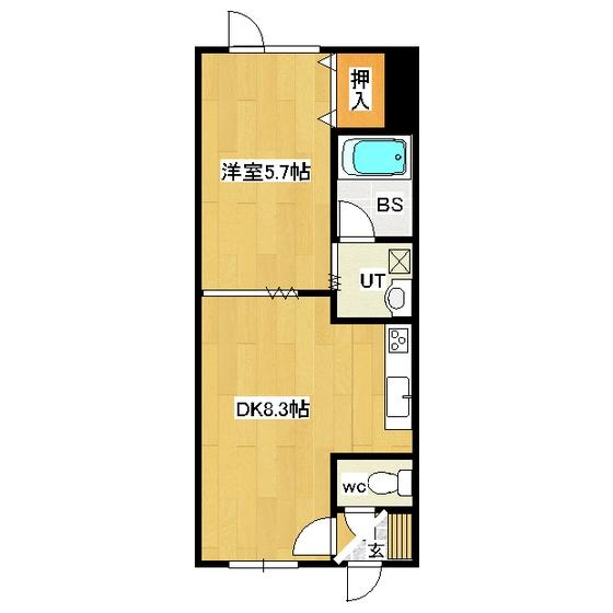 コーポHIRO 203号室