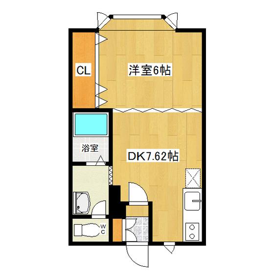 サンデープレース46 105号室