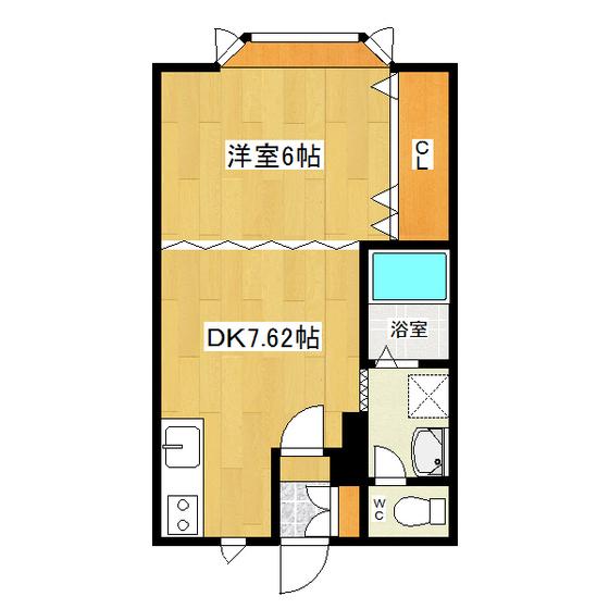 サンデープレース46 206号室