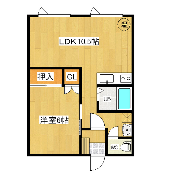 3条ハイツ 2F05号室