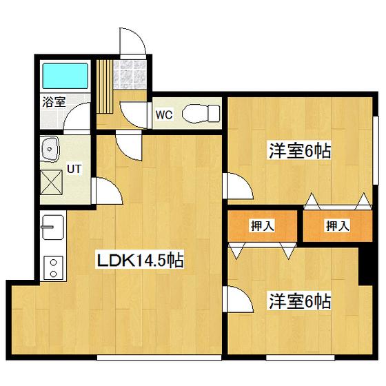北口マンション5号館 201号室