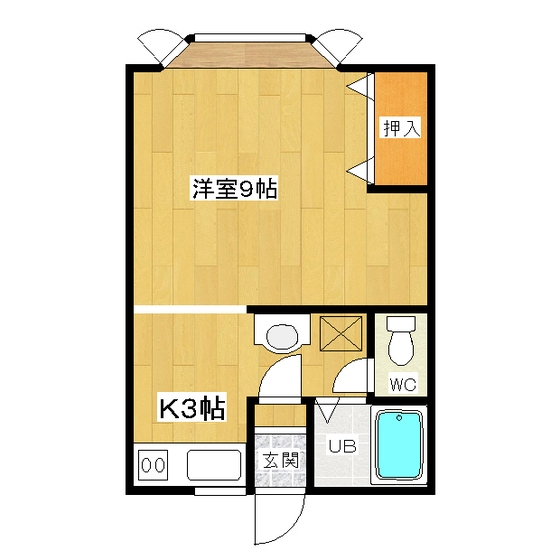 グリーンハイツ坂本 202号室
