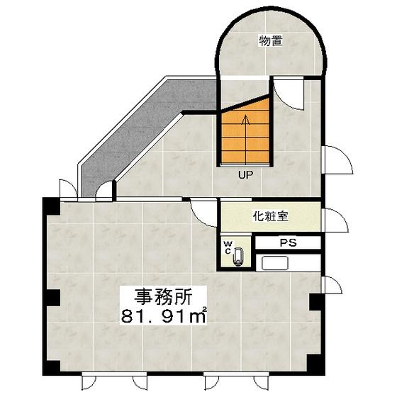 中ノ島3丁目ビル 1号室