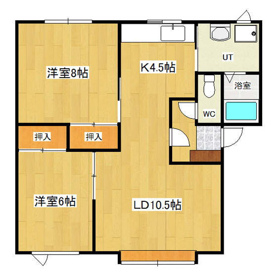 SKYハイツ 1F2号室