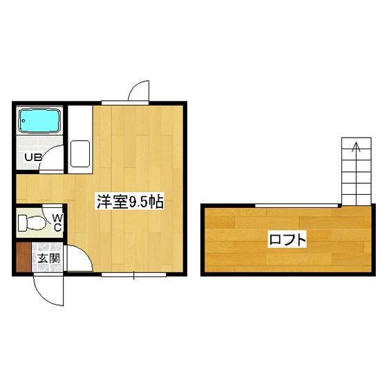 メゾンド市田D・E 222号室