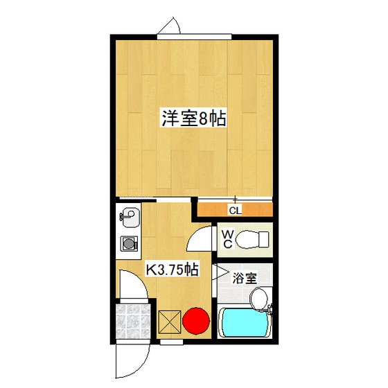 みきハウス 2-D号室
