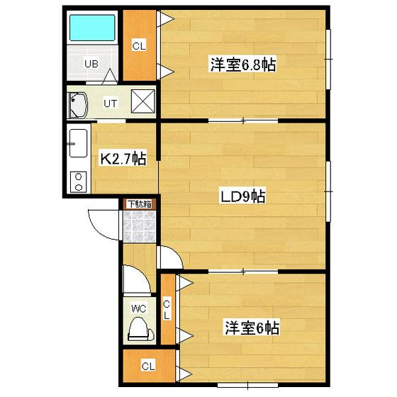 リバティとん田 201号室