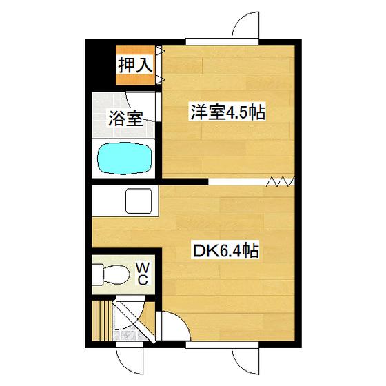 吉野ハイツ1 102号室