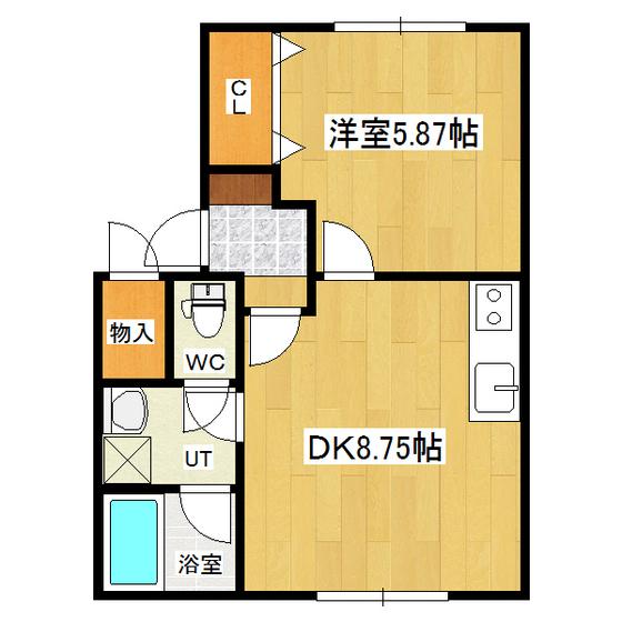 ウエストランドハウス 103号室