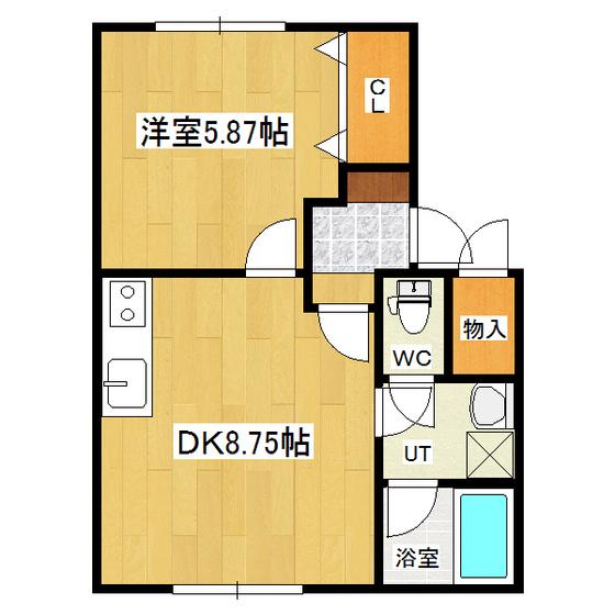 ウエストランドハウス 105号室