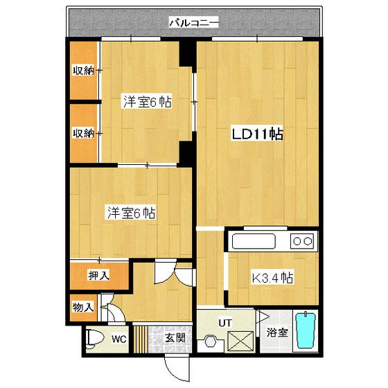 グリーンヴィレッジ 302号室