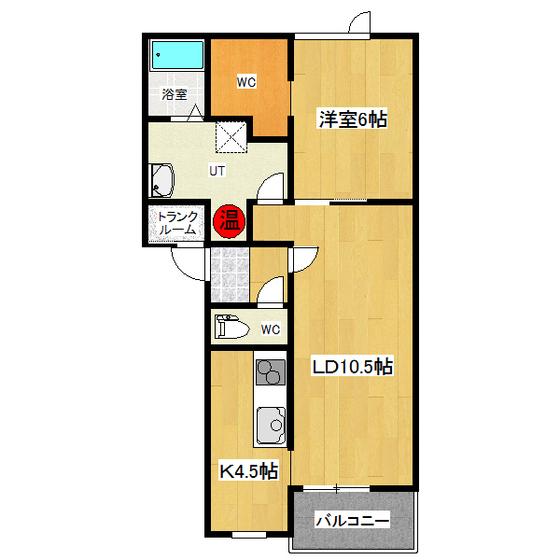 ラビスタ文京 1-D号室