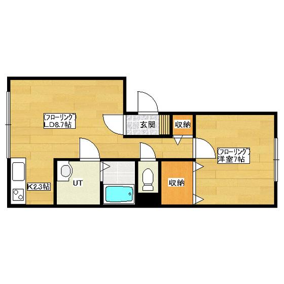 ハーツクライ 201号室
