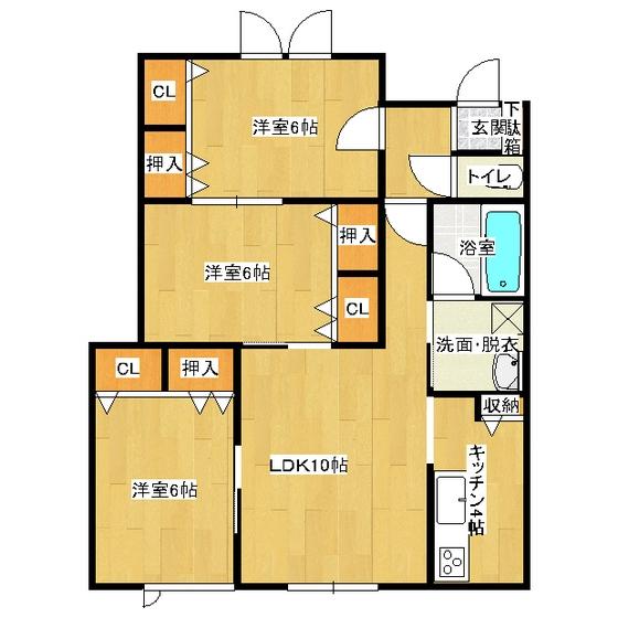 アメニティ・ラテ 102号室