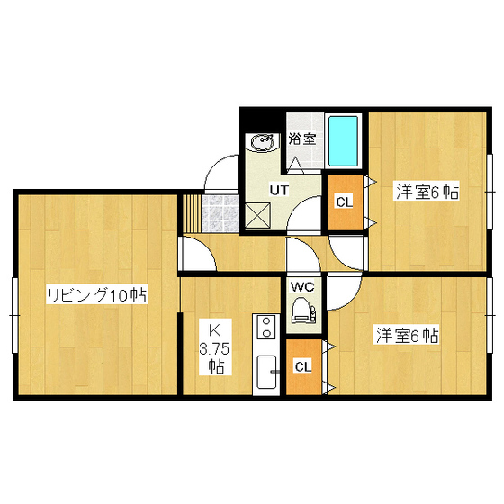 マロン 1-B号室