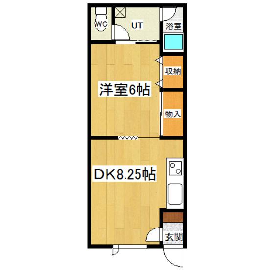 メゾン・ドゥ・クマザキII 201号室