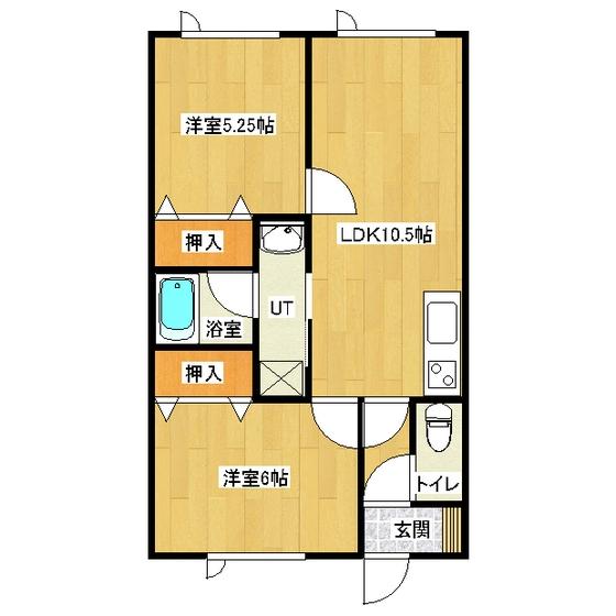 メゾン・ドゥ・クマザキIII 202号室