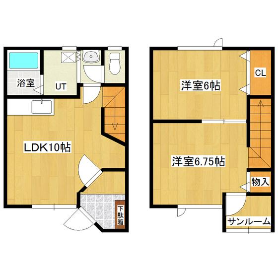 メゾン・ドゥ・クマザキIV 2号室