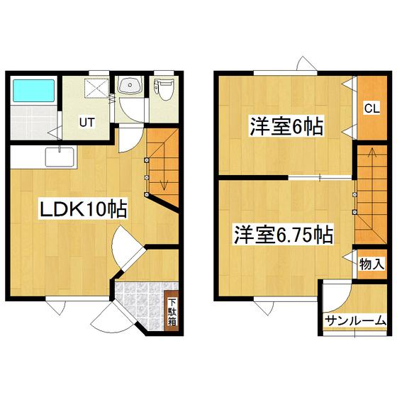メゾン・ドゥ・クマザキIV 3号室