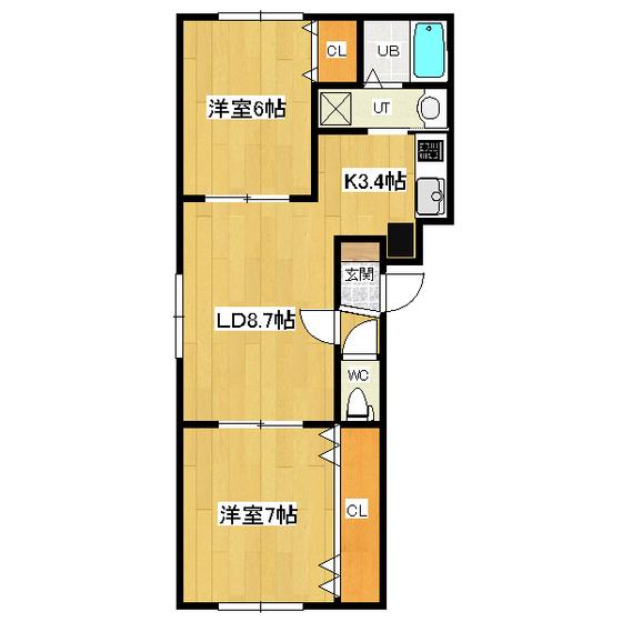 リバティサンライズ 101号室