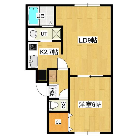 リバティサンライズ 104号室