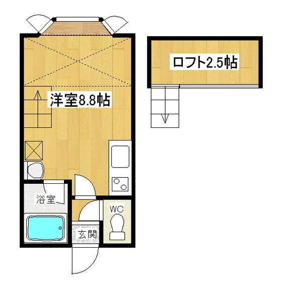 ロイヤルハイツ 205号室
