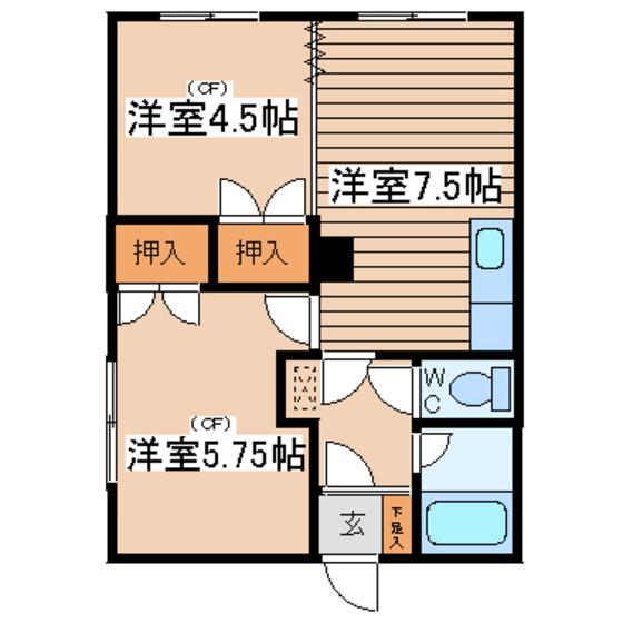 タカオハイツ 103号室