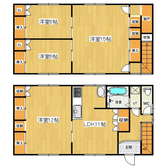 岡田貸家(常盤町) 1号室