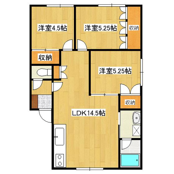 プチ・パレ 102号室