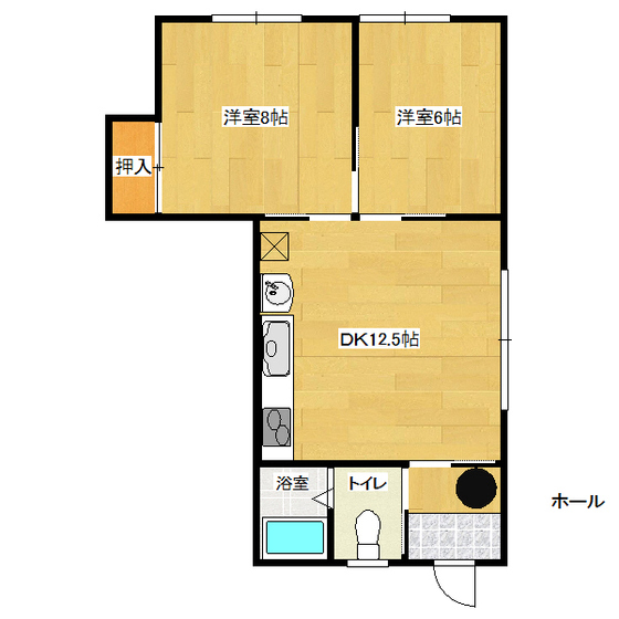 山岸第3ハイツ 103号室