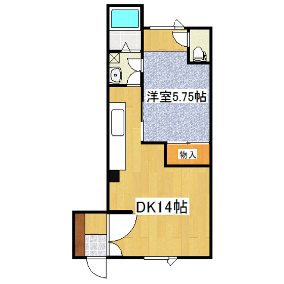 共栄ハイツ 03号室