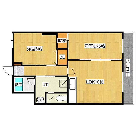 セゾンハイツ 202号室