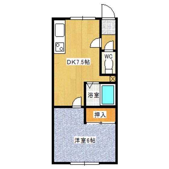 びさんハイツ 8号室