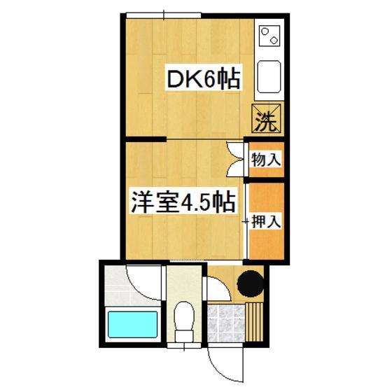 山岸第2ハイツ 3号室