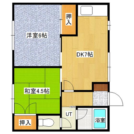 ササキハイツ 1-2号室