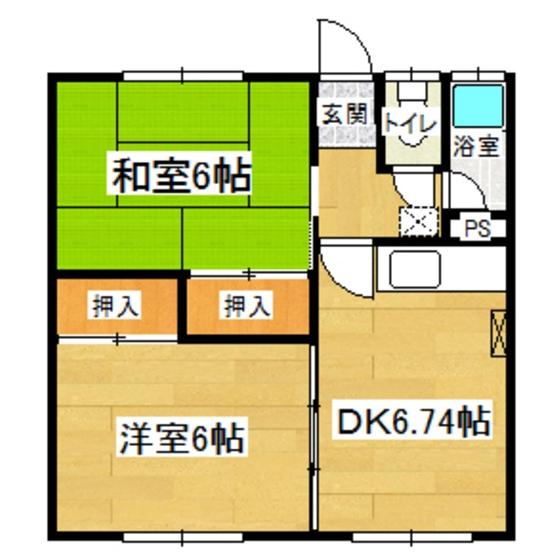 コスモハイツ 21号室