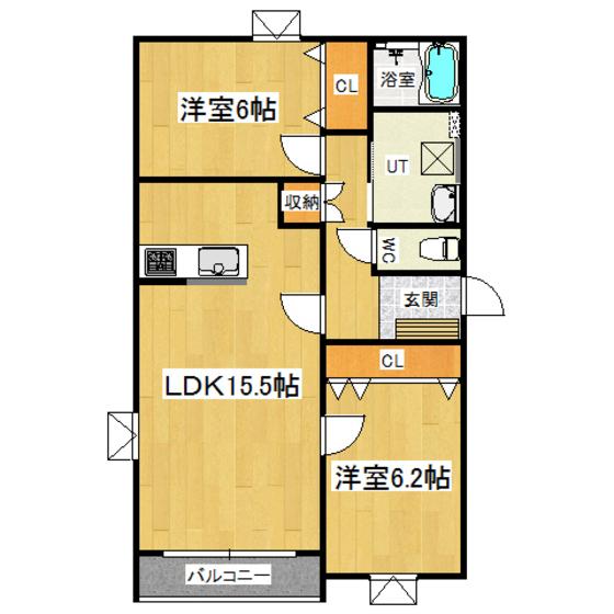 K's III C号室