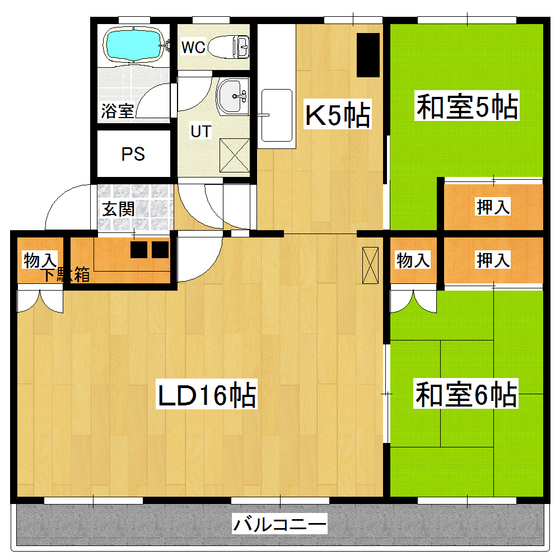 MOTOMACHI715 301号室