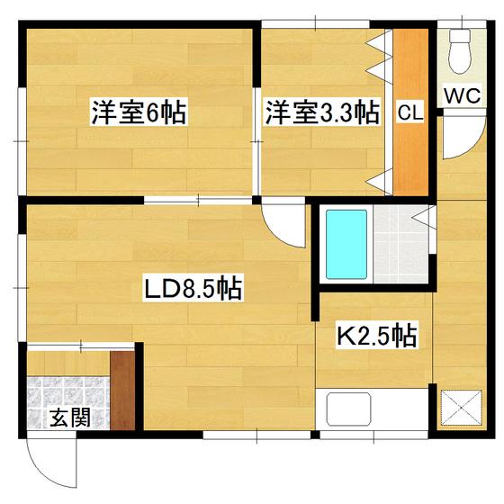 武山アパート 201号室