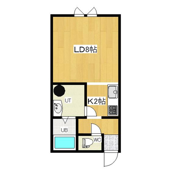 La-FloraIII(ラ・フローラスリー) 2-B号室