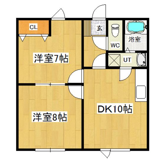 アパートメントテラモトI 102号室