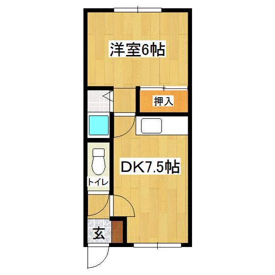 栄町ハイツ 02号室