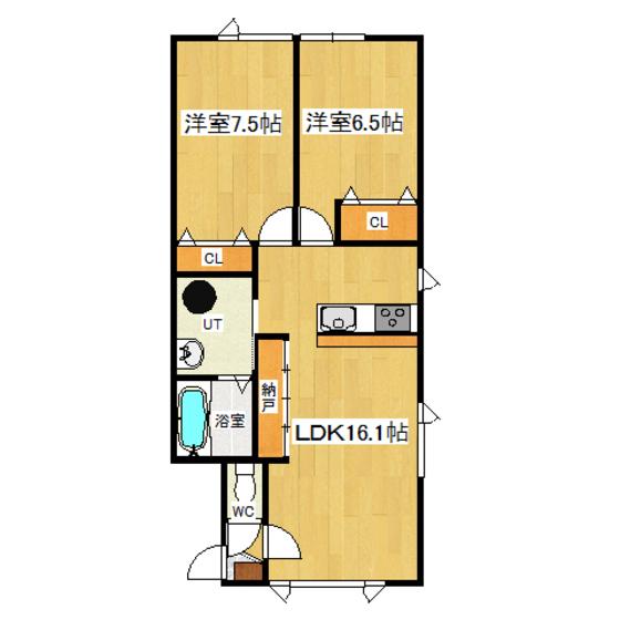 フレディアII 205号室