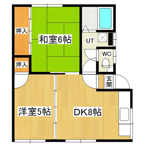竹田貸室 2号室