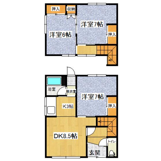 富田貸室 1号室