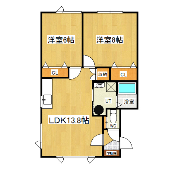 リバティノア 2-A号室