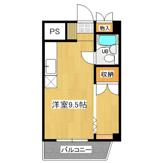 サンロードハイツ 406号室