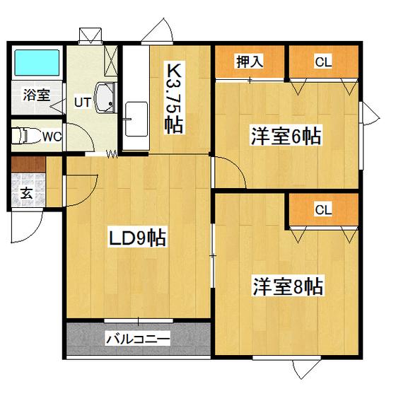 ソワールA 102号室